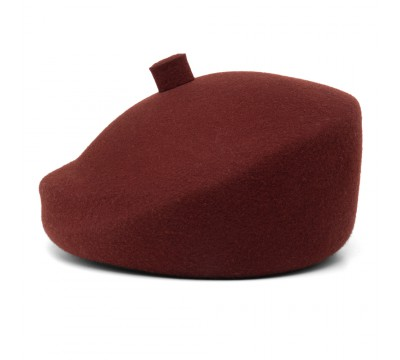 Beret - Mare/B - bordeaux red