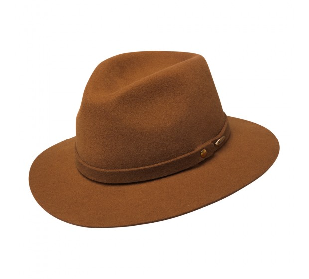 Bronté Fedora hat - Ruther - Camel