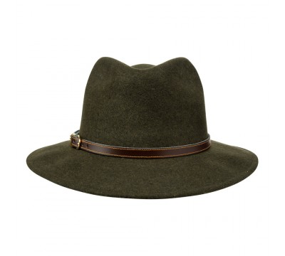 Fedora hat - Cleo - Loden green