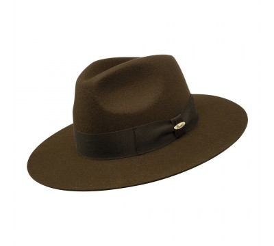 Fedora hat - Amin - cork brown