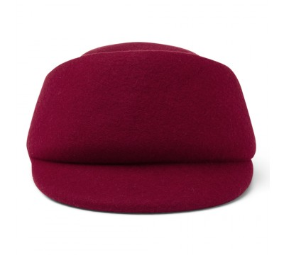 Cap - Fay - cherry red