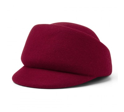 Cap - Fay - cherry red<br />
