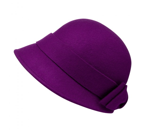 Cloche - Sophia - purple