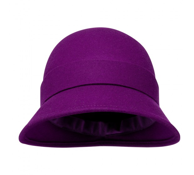 Bronté Cloche - Sophia - purple