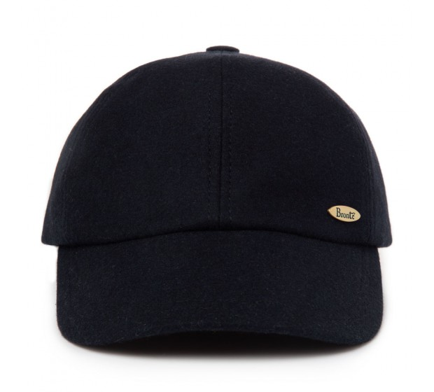 Cap - Bram - black - wool