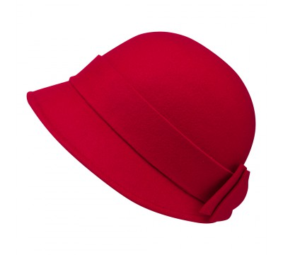 Cloche - Sophia - red