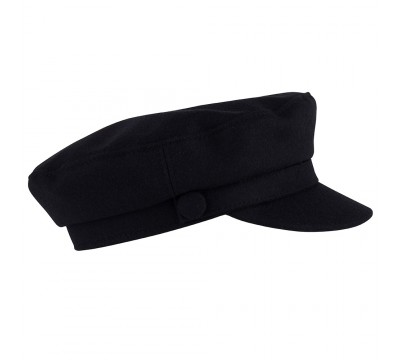 Cap - Shipper - black wool