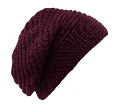 Beret - Faraona - burgundy red