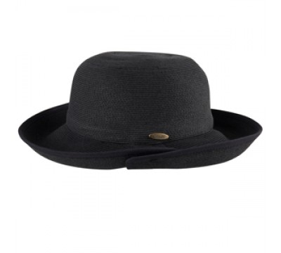 Wide brim hat - Irene - black