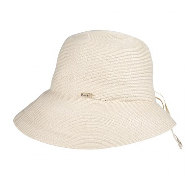 Cloche hat - Zoey - natural
