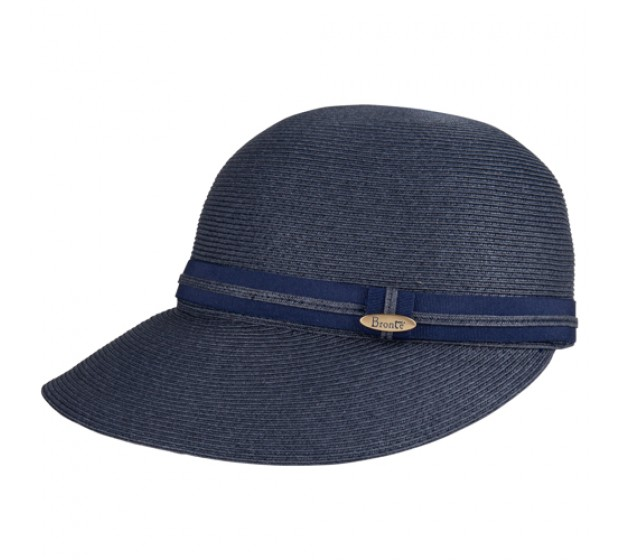 Cap - Linda/B - navy- travel hat