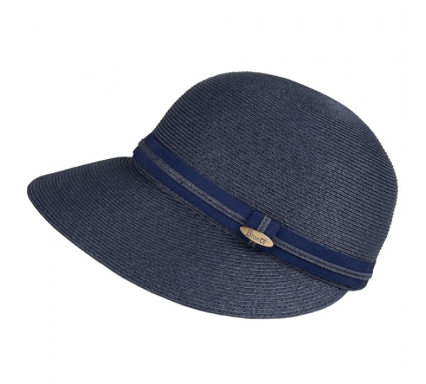 Bronté Cap - Linda/B - navy- travel hat