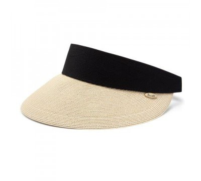 Sun visor - Evy - natural/black