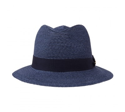Trilby hat - Mace - navy blue