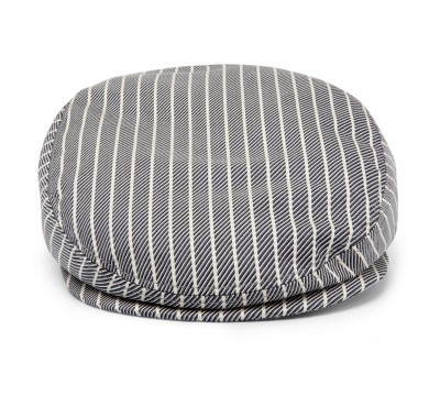 Cap - Mark- grey/stripe cotton