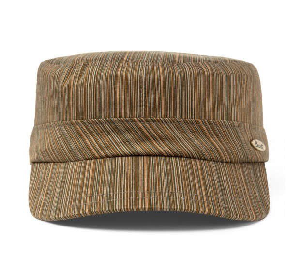 Bronté Cap - Max - green stripes