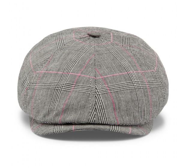 Cap - Rocky - grey check