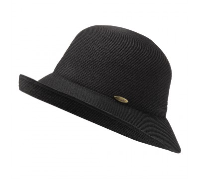 Cloche hat - Zoey - black