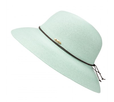 Wide brim hat - Anna - mint green