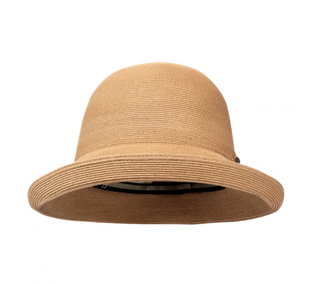 Cloche hat - Zoey - camel