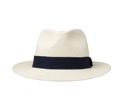 Panama hat - Thomas - natural/navy