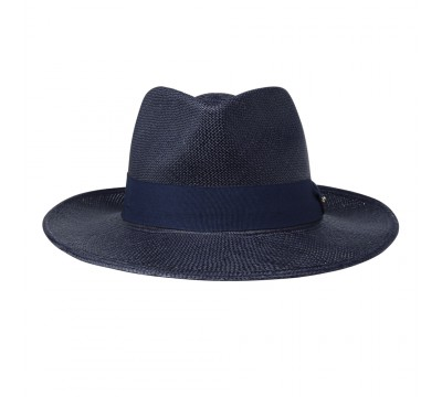 Panama hat - Thomas - navy
