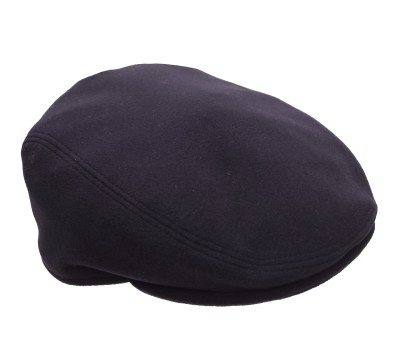 Cap - Mark - black - wool