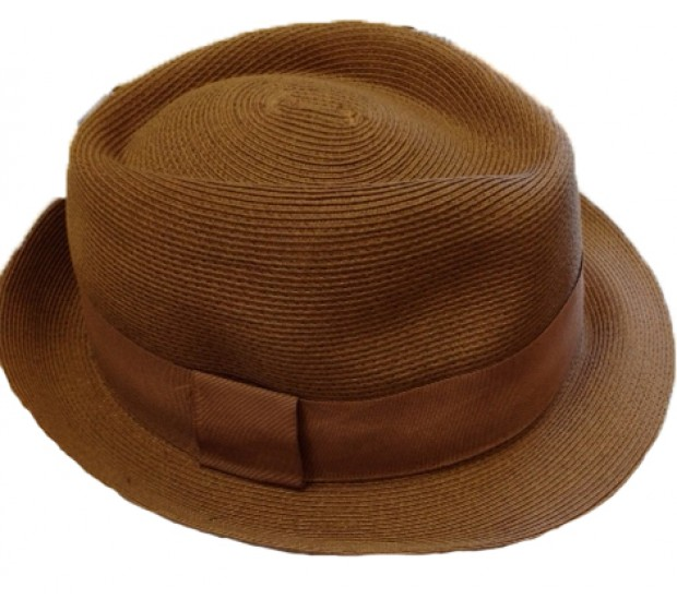 Bronté Trilby hat - Trilby - tan brown