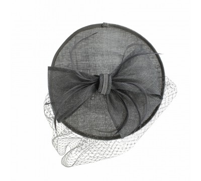 Fascinators - Sheila - black